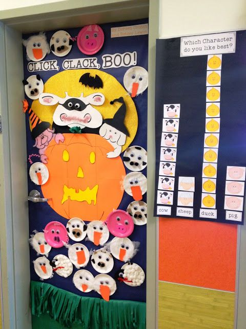 trick or read door decorating freebies and more