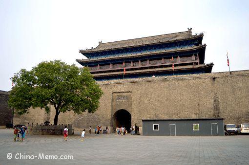 China Xi'an City Wall West Gate. www.china-memo.com