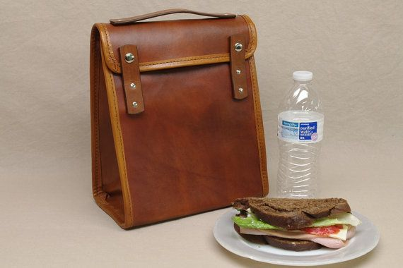 This executive leather lunch bag is great accessory for the CEO in your life or that friend that is quickly climbing the corporate latter. For more great designer lunch bags be sure to click the link.