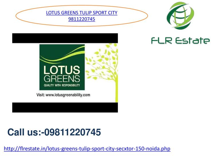 Lotus greens tulip sports city 1 9811220745