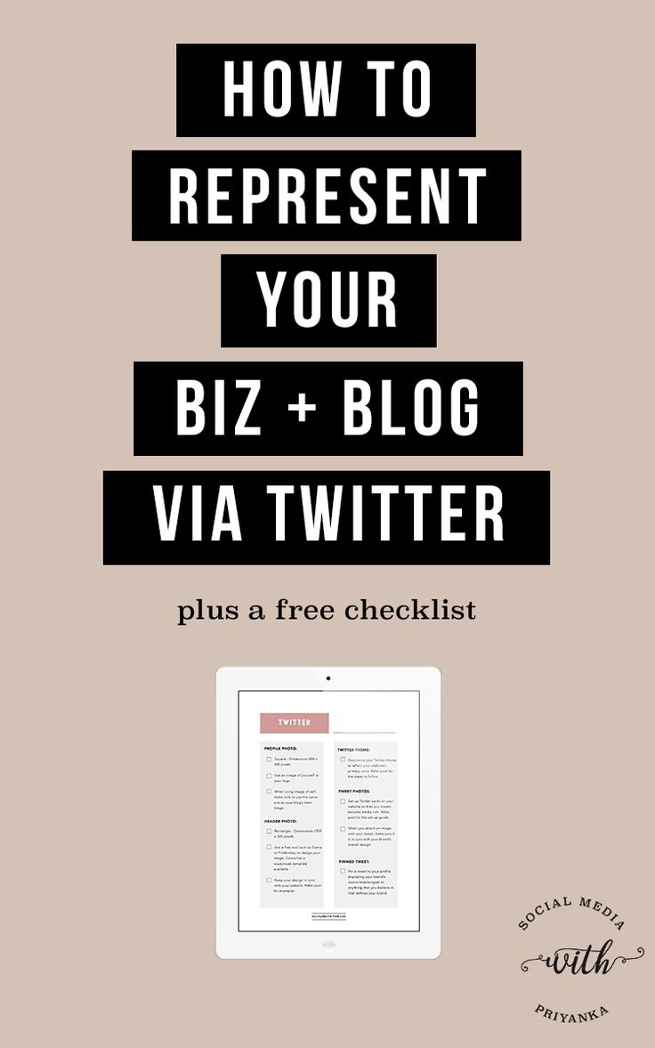 Social Media Branding 101 Part Two – Learn how to best represent your biz + blog (a.k.a. your brand) via Twitter. Download your FREE Twitter Branding Checklist. // Social Media with Priyanka // Bespoke Online Marketing Solutions and Social Media Consulting for Small Businesses and Solopreneurs