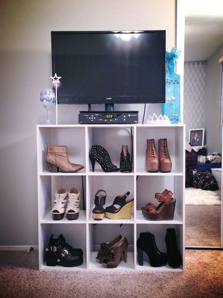 9 Cube Organizer Shoe Display Perfect Alternative To