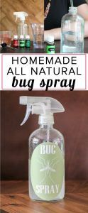 Do DEET based bug sprays scare you?! Me too! You can make DIY bug spray at home! This natural bug spray is easy to make and costs less than store-bought bug spray. This is the most straight-forward DIY bug spray recipe I have found.