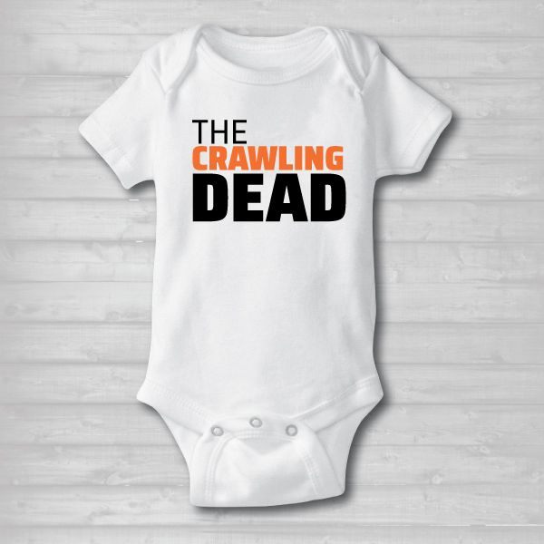 Baby customized/ personalized onesie. Spooky halloween onesies that is perfect for your costume parties and when handing out candy.