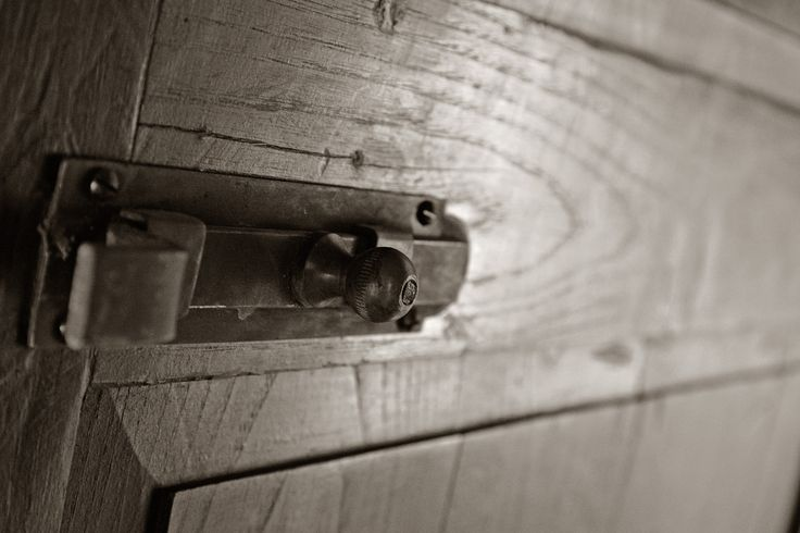 All our internal doors are the originals found in the rural house and carefully restored.