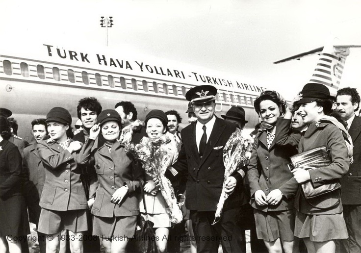 Turkish Airlines Cabin Crew - 70's