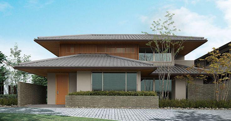 和の趣に彩られる家 |一戸建て木造注文住宅の住友林業(ハウスメーカー)