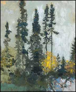 Frank Hans (Franz) Johnston ARCA CSPWC G7 OSA 1888 - 1949 Canadian  Algoma Landscape