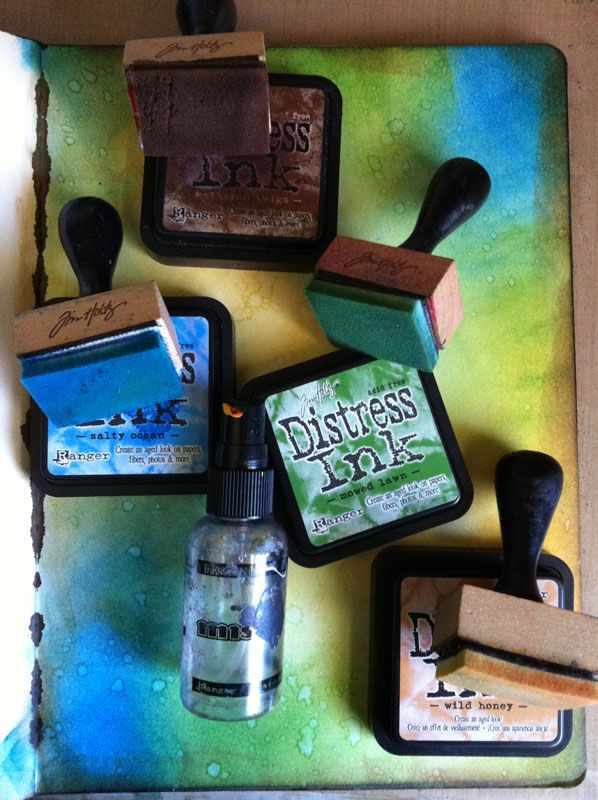 distress-inks-and-water