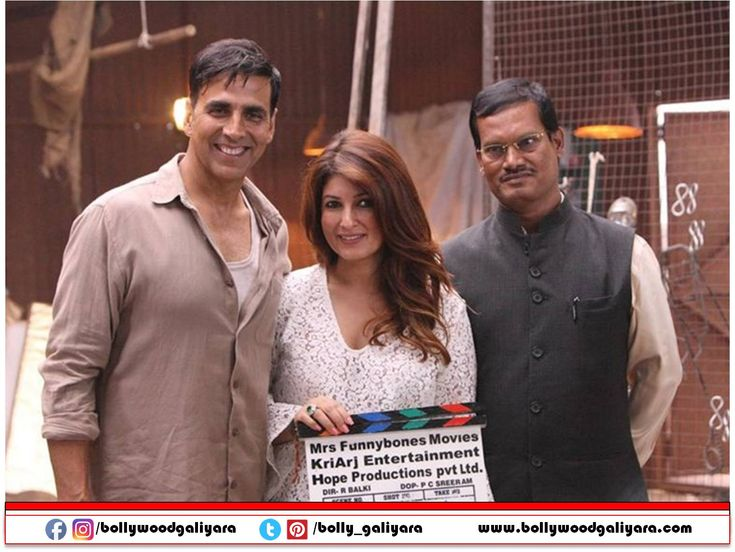 """""""Producing Pad Man was risk says Twinkle Khanna"""""""