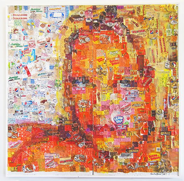 1000 Images About Candy Wrapper Collage On Pinterest