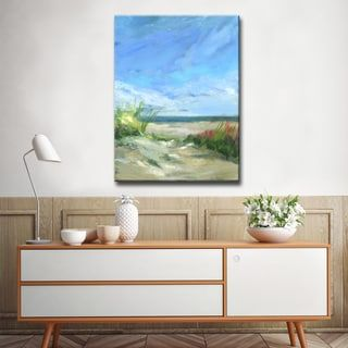 Shop for 'Flowers & Seagrass' Ready2HangArt Canvas by Dana McMillan. Free Shipping on orders over $45 at Overstock.com - Your Online Art Gallery Store! Get 5% in rewards with Club O! - 21061185