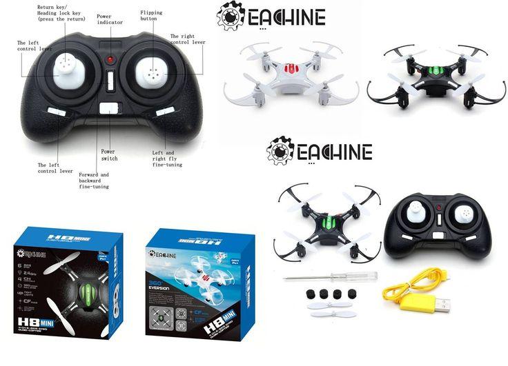 Mini drones teledirigidos por radiocontrol RC. Un juguete de aeromodelismo recomendado para niños y adultos.
