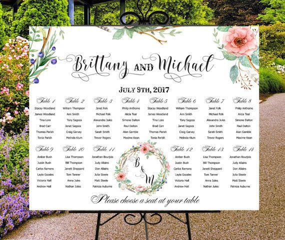 Best Wedding Seating Charts Images On   Wedding