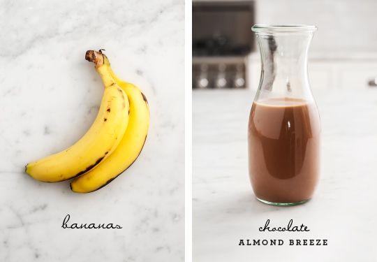 Chocolate Almond Breeze Smoothie (ingredients) // loveandlemons.com