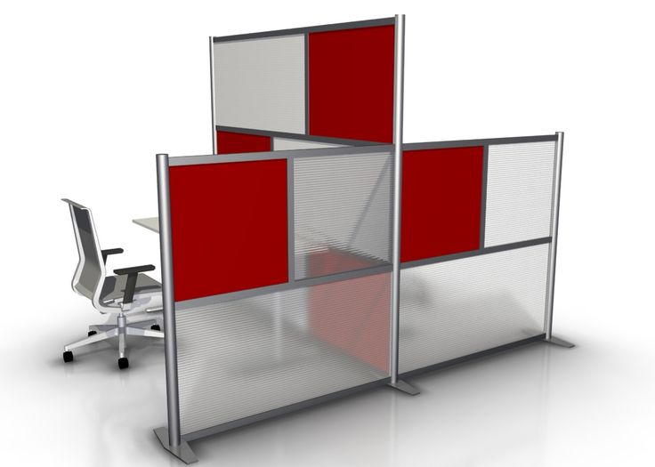 T Shaped Minimalist Modern Office Partitions. IDivide Modern Modular Office  Partition Walls Are A