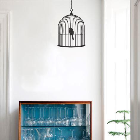 Birdcage Wallsticker ferm living