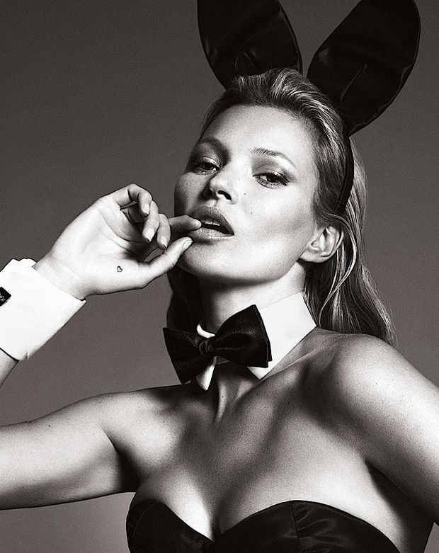 Nog meer uitgelekte Kate Moss x Playboy beelden! - Fashionscene - Fashion, Beauty, Models, Shopping, Catwalk
