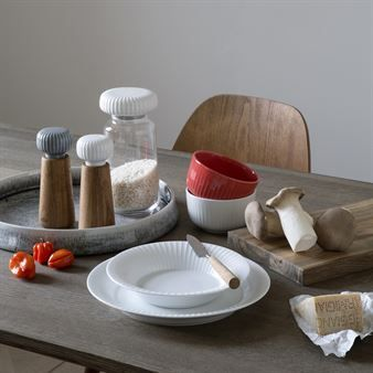 Hammershøi salt and pepper mill - white - Kähler