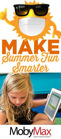 Did you know that most students lose about two months of grade level equivalency in math skills during summer break? MobyMax is a free, complete curriculum for ALL K-8 subjects. MobyMax helps students keep their skills sharp in reading, writing, math, science, social studies, and more. MobyMax is specifically designed for teachers.