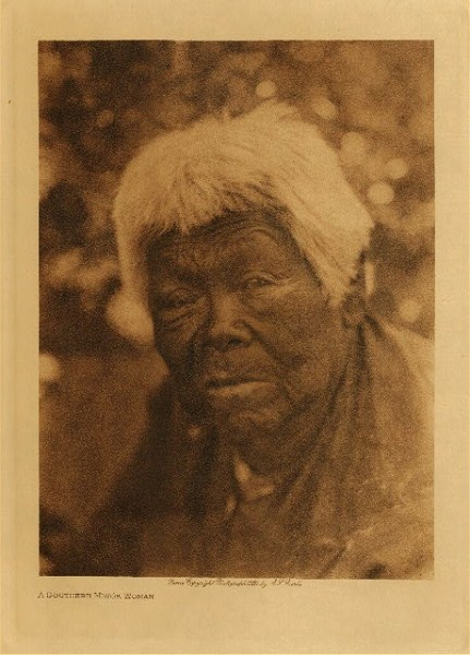 A Southern Miwok Woman