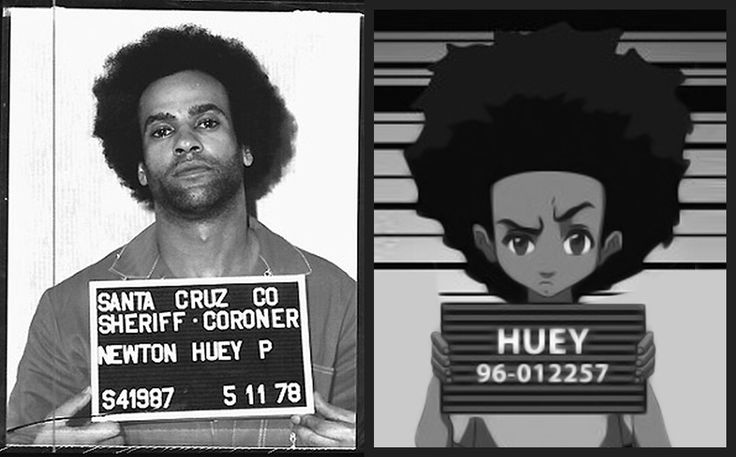 Huey Freeman Is Based On The Founder Of The Black Panther