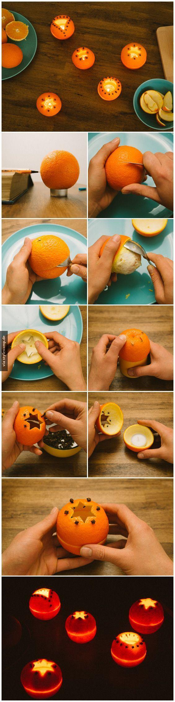 DIY: Romantische Teelichter ♥
