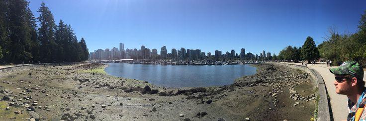 Stanley park- sea wall, Vancouver