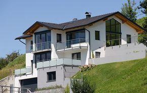 Einfamilienhaus in Hanglage, Tiefgraben im Mondseeland - Galerien - Reindl Bau Mondsee