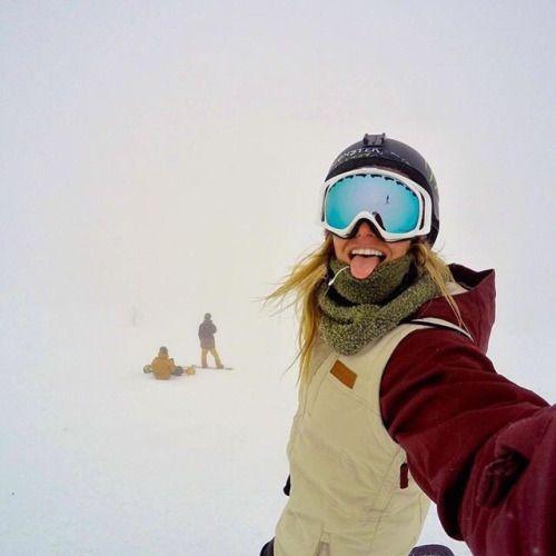 Full Moon snowboard monster snowboarding billabong Oakley Gold Medalist Jamie Anderson GNU slope style Women's Snowboarding full moon film women in action sports gnu snowboards Mervin manufacturing