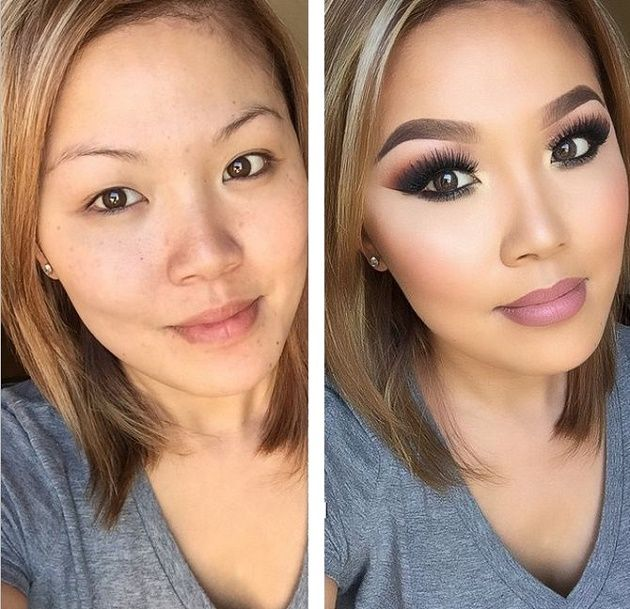 cheek contour before and after. what makeup can really do - before and after pictures cheek contour