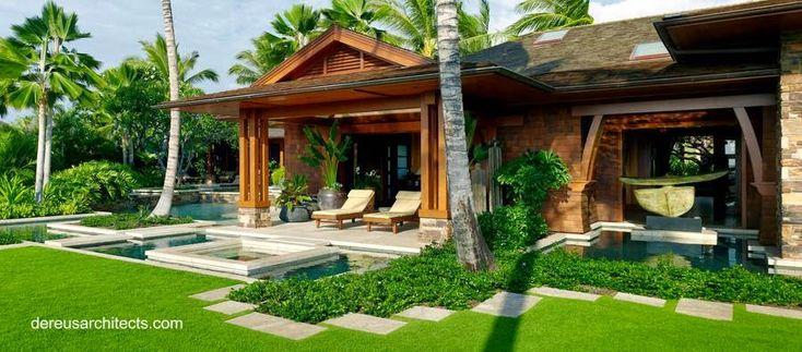 Arquitectura de Casas: La arquitectura de la casa tropical.