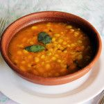 Porotos Granados (cranberry beans stew - Chilean recipe)