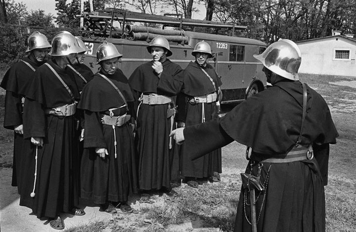 Chris Niedenthal - Polish firefighting monks ca 1970s