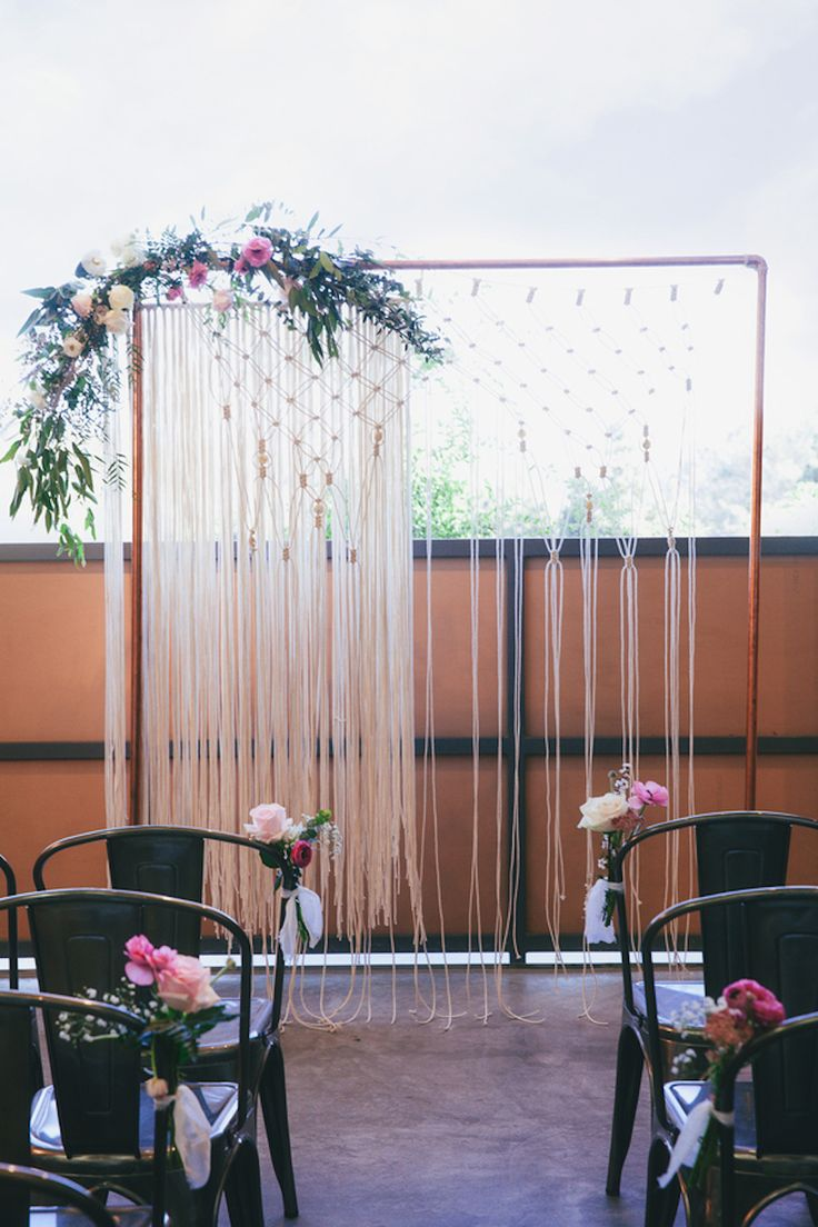Jessica Jaccarino Photography flawlessly captured every last detail of this contemporary-industrial meets garden wedding inspiration.