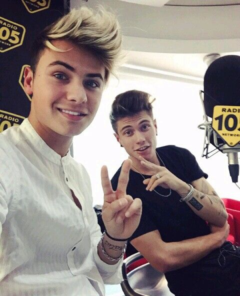 Benji e Fede a radio 105❤