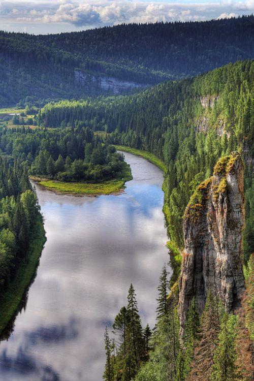Sredneuralsk, Russia