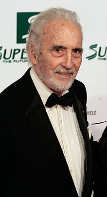Christopher Lee - also reprising his role (Saruman) from Lord of the Rings. I have always loved Mr. Lee's movie's since I was young...they never get old...