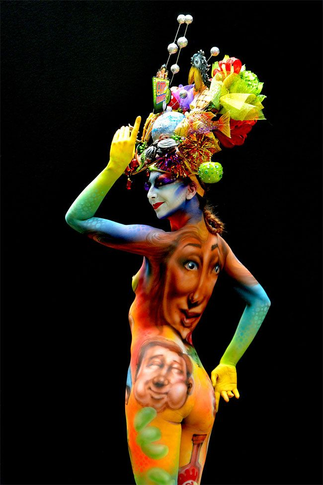 1292 The 16th World Bodypainting Festival observation