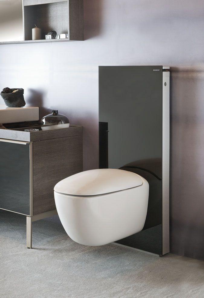 Les 25 meilleures id es concernant wc suspendu geberit sur pinterest toilet - Toilette noir suspendu ...