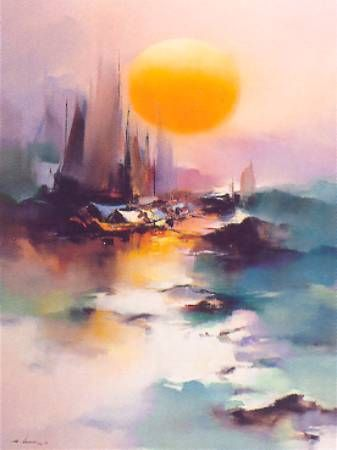'Rosy in the Morning' by Hong Leung