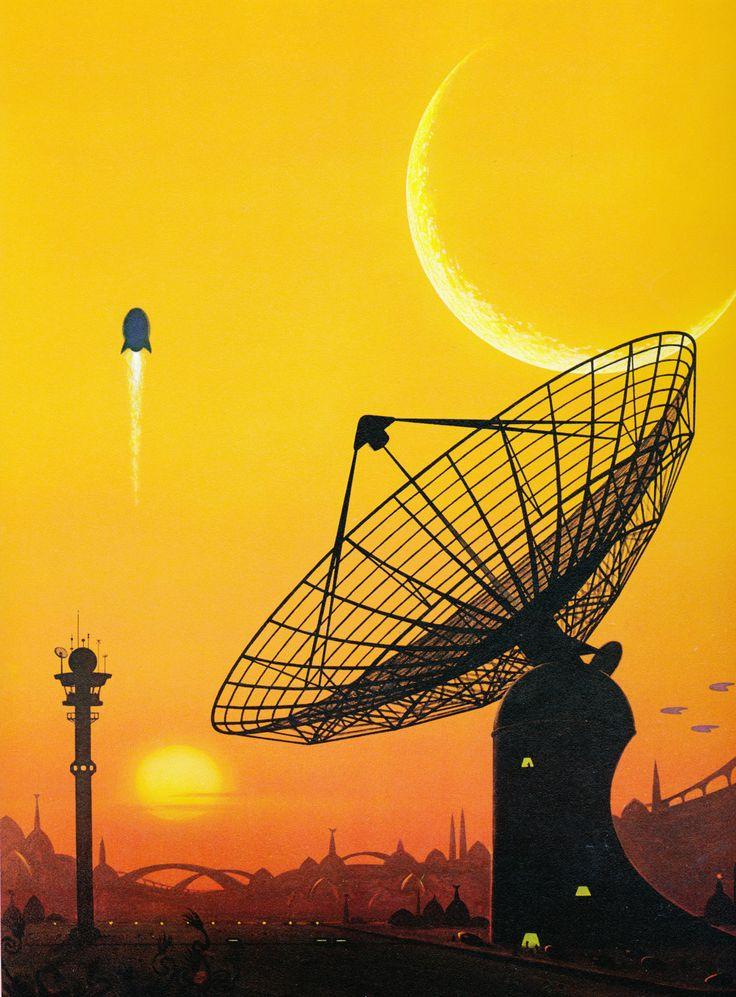 Interstellar Contact by David Hardy
