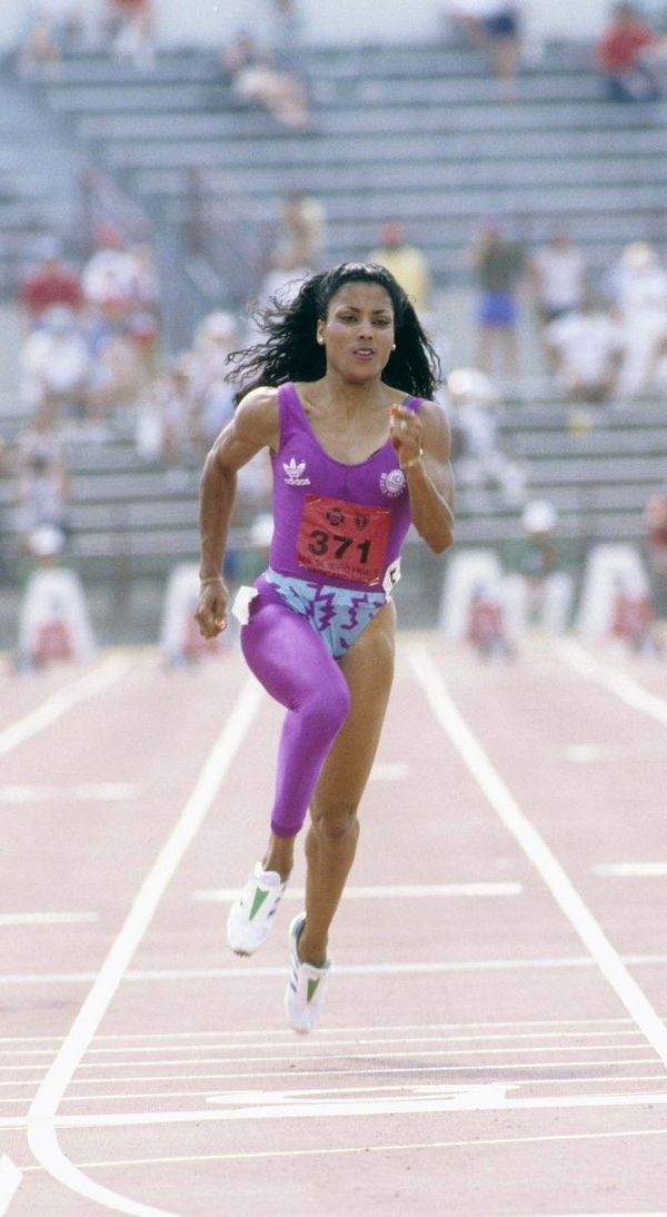 """""""Dress good to look good. Look good to feel good. And feel good to run fast!""""—Florence Griffith Joyner"""