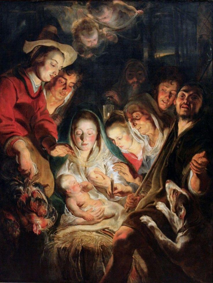 Προσκύνηση των ποιμένων (1616) Βασιλικό Μουσείο Καλών Τεχνών στην Αμβέρσα