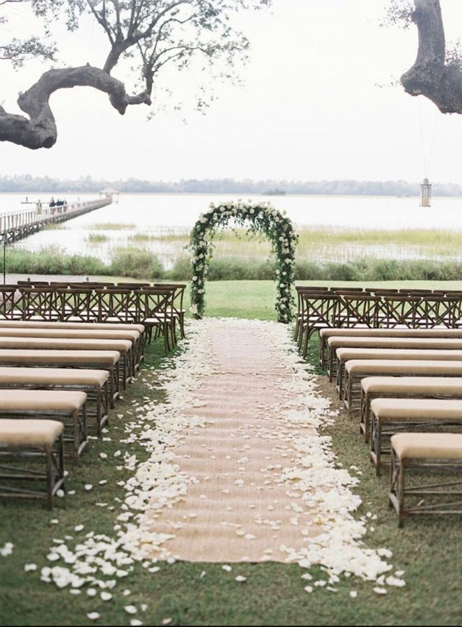 20ft Hessian Aisle Runner Wedding Decor Carpet Rug Uk Seller