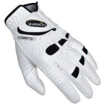 The Intech Premium Cabretta is a durable yet comfortable golf glove for any ability golfer at a value price rarely seen in golf equipment. Left handed golfers need to order right hand gloves, and right handed golfers need to order gloves for the left hand.