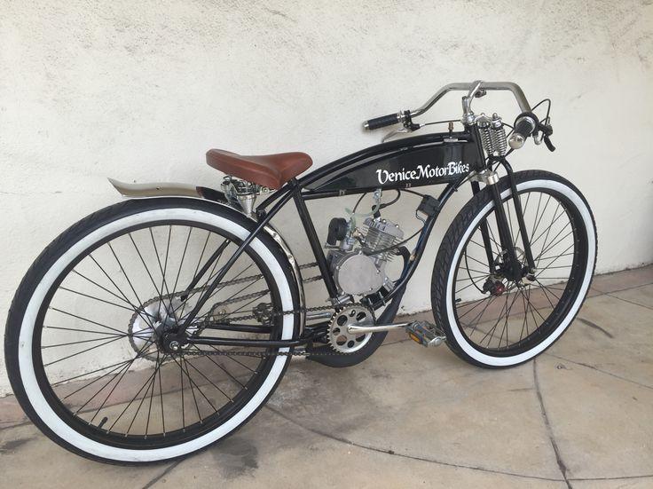 Vintage Schwinn BTR board track racer, motorized bicycle, motorcycle replica, piston bike, Gasbike, Venice