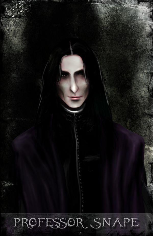 Professor Severus Snape by Patilda.deviantart.com on @deviantART