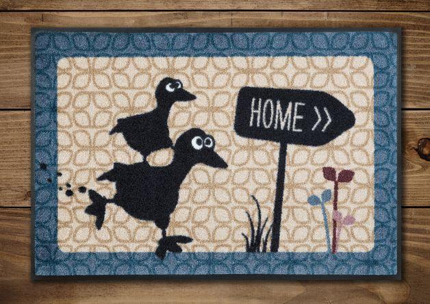 #Fussmatte mit #Ente Grete. #Home