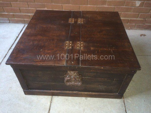 Sheesham Style Storage Chest / Coffee Table